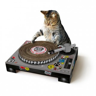 "Grattoir ""DJ CAT"""