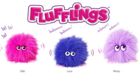 Flufflings les doudous interactif