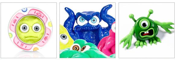 Putty Monsters, créez vos monstres en pâte à modeler !