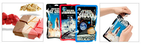 Nourriture por cosmonaute, la Space Food