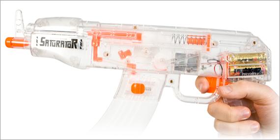 Saturator, le pistolet à eau automatique