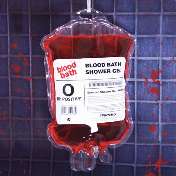 Gel douche bain de sang